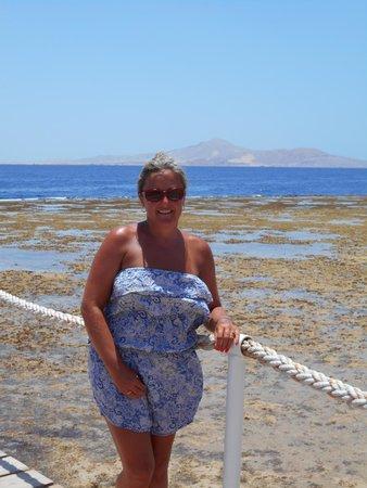 Sharm Grand Plaza : On jetty tiran in view