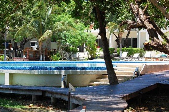 Marina Paraiso: Infinity pool