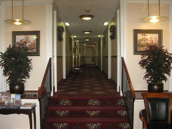 Windsor Park Hotel: MAIN HALLWAY