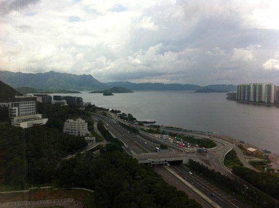 Hyatt Regency Hong Kong, Sha Tin: Room with a view at Hyatt regency sha tin