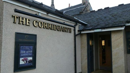 Corriegarth Hotel: Good for drink too!