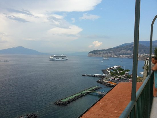 Imperial Hotel Tramontano: View from Room