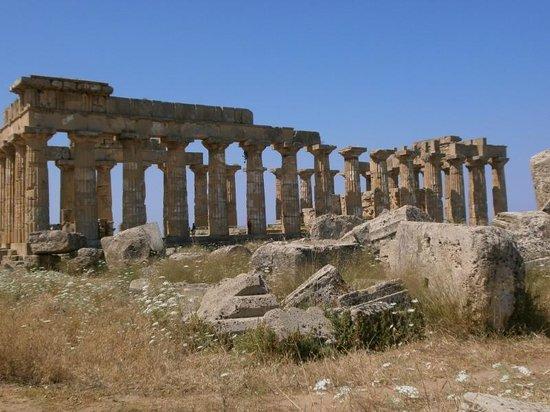 Selinunte : temple