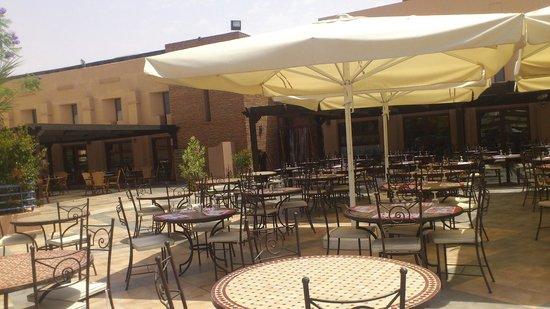 Club Marmara Madina : terrasse exterieur