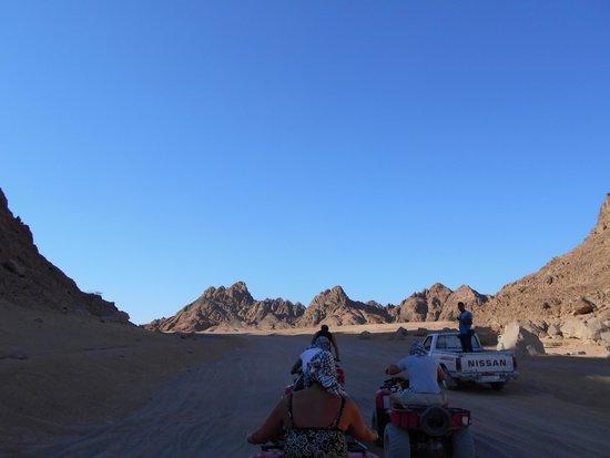 Sharm Grand Plaza: Desert on quads