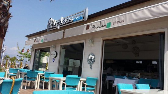 Meydan Meat & Fish Restaurant : On the harbour great view
