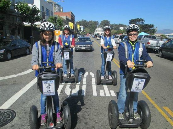Electric Tour Company Segway Tours: Touring SF