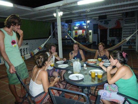 El Hostal de Jackie: BBQ en la terraza