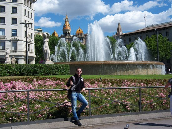Plaza de Cataluña: Scorcio