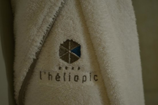 Hotel l'Heliopic: Spa Gowns