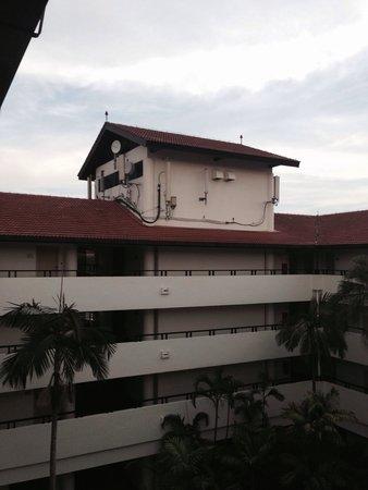 The Saujana Kuala Lumpur: View whenever I opened my room door