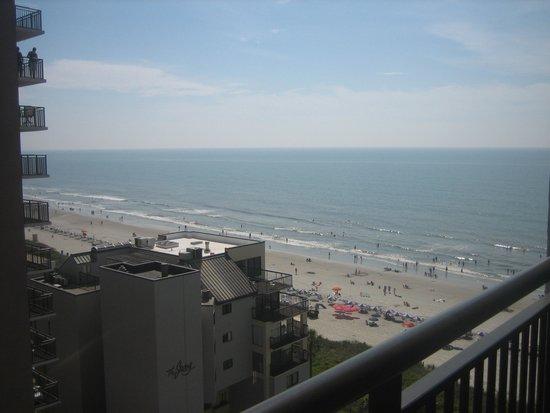 Ocean Reef Resort: view from balcony