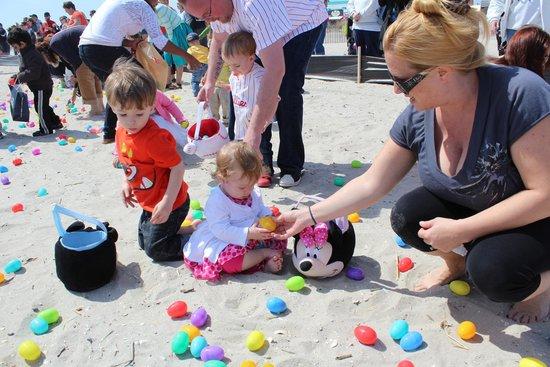 Ocean City Boardwalk: Easter Egg Hunt