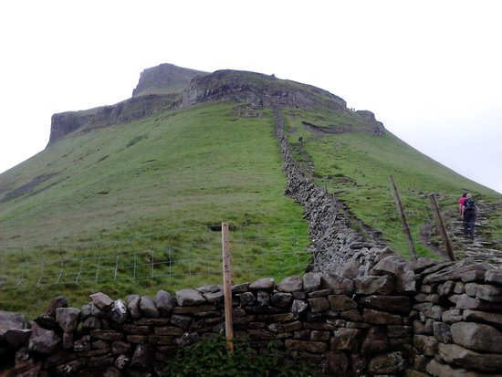 Horton-in-Ribblesdale, UK: Pen-y-ghent