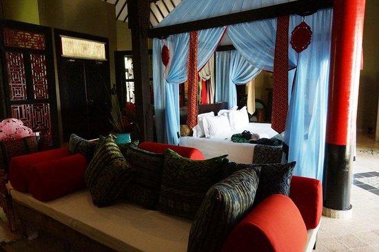 Hotel Tugu Lombok: Bedroom