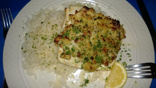 The Trade Winds Guesthouse & Restaurant: Delicious fish