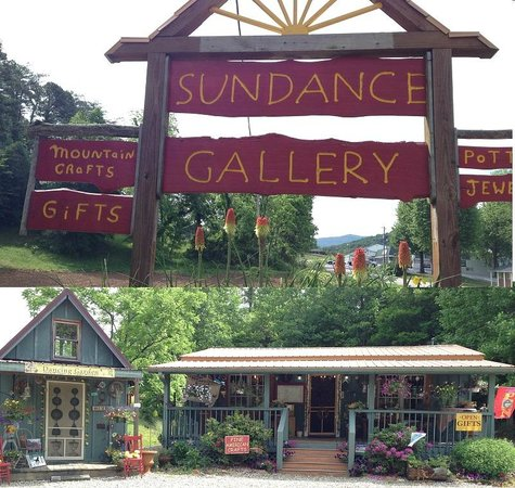 Sundance Gallery: Picture of our sign and charming store front.