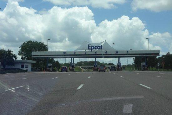 Epcot: Main Entrance