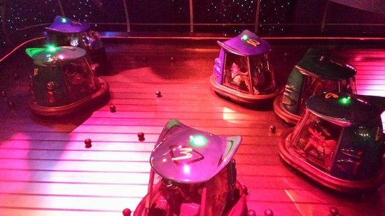 DisneyQuest Indoor Interactive Theme Park : We love the Space Adventure