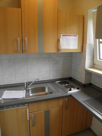 Concept Living München: Small kitchen