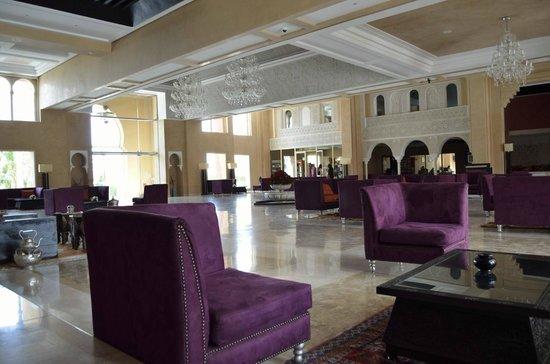 Eden Andalou Hotel Aquapark & Spa: Le hall de l'hôtel