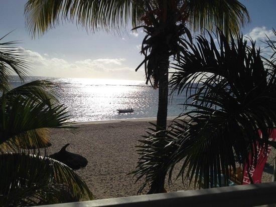 Villas Caroline : terrasse vue mer