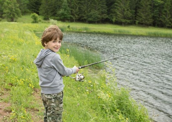 Hull-O Farms, Family Farm Vacations: Fishing