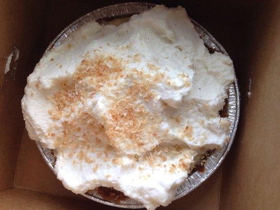 Leoda's Kitchen and Pie Shop: Coconut cream pie