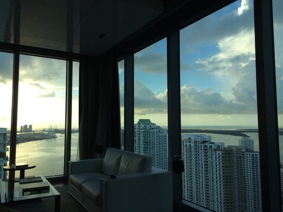 Hotel Beaux Arts Miami: View from our view (corner unit)