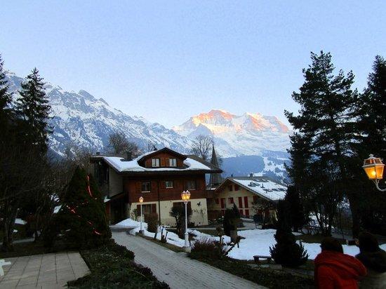 Hotel Wengener Hof: View from Hotel