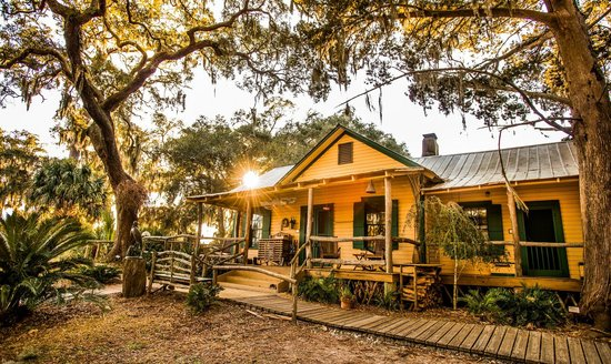 The Lodge on Little St. Simons Island: The Hunting Lodge