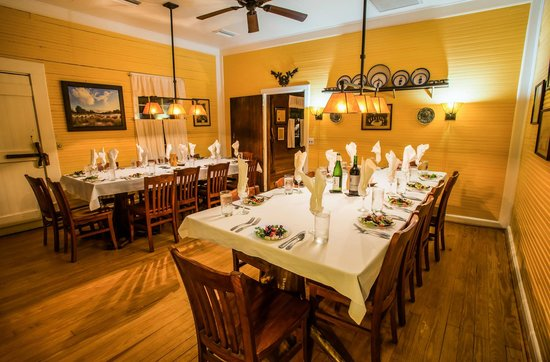 The Lodge on Little St. Simons Island: Main Dining Room