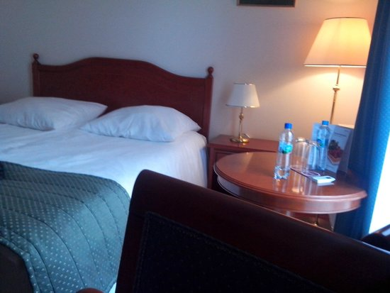 Qubus Hotel Wroclaw: Vue chambre