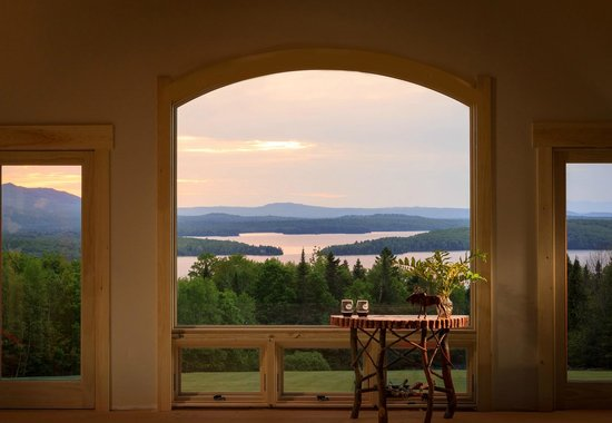 Lodge at Moosehead Lake: Relax and enjoy the view