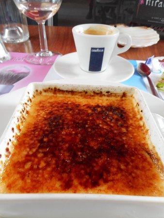 Resto Halle : Crème brûlé