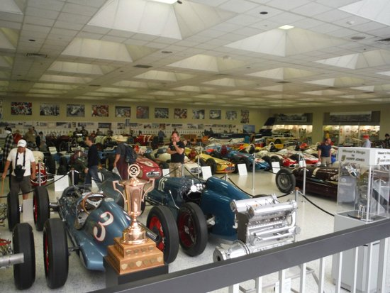 Inside The Museum Picture Of Indianapolis Motor Speedway