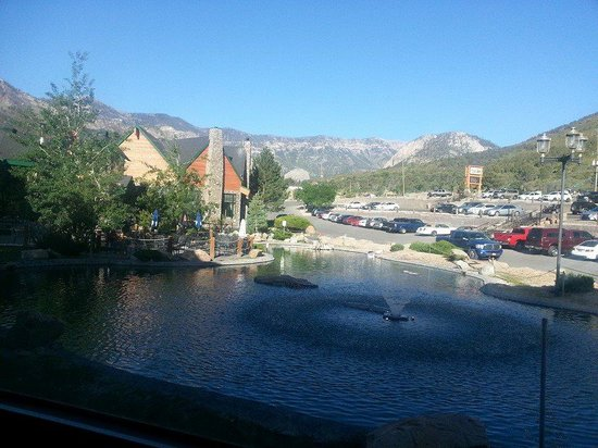 The Resort on Mount Charleston : The View from our Room