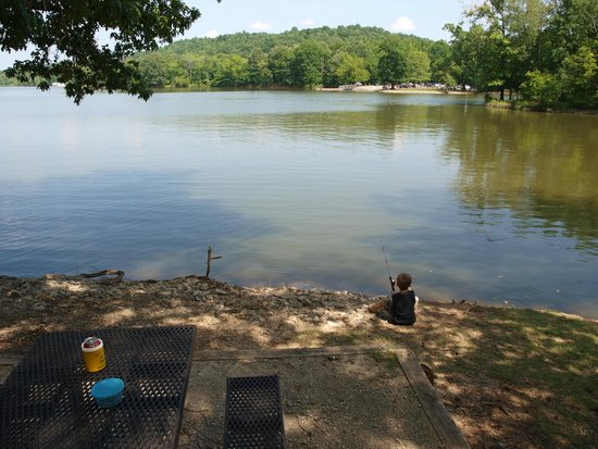 Mousetail Landing: Primitive Campground
