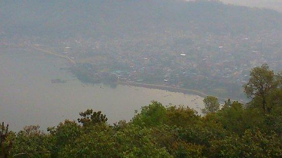 Paddle Nepal - Day Tours: lake from mauntain