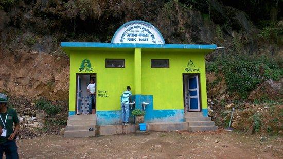 Paddle Nepal - Day Tours: public toilet
