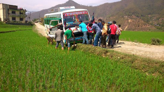 Paddle Nepal - Day Tours: our tourest bus