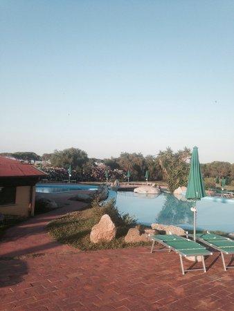 Villaggio Baia dei Pini: Vista piscina