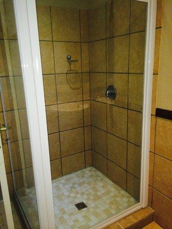 Hotel Numbi & Garden Suites : shower