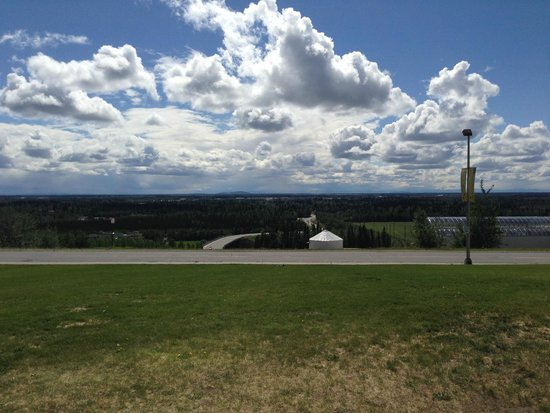 University of Alaska Museum of the North: View from the Museum