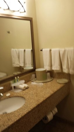 Holiday Inn Express Hotel & Suites Pueblo North: BATH SINK