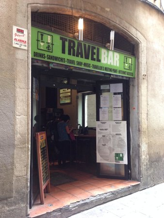 Travel Bar : The heart of my time spent in Barcelona