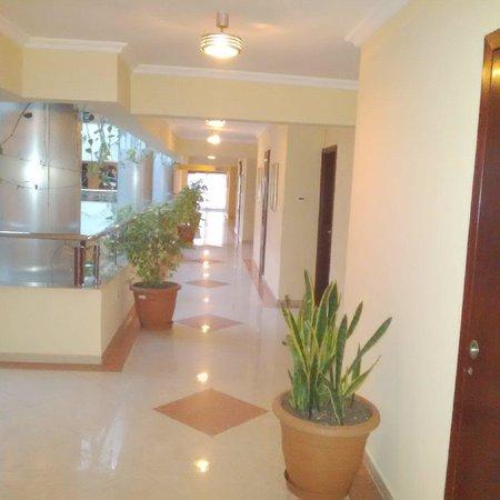 Hotel Intercontinental-Addis : Corridor