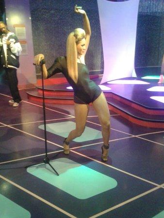 Madame Tussauds Hollywood : Beyonce