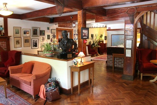 Renvyle House Hotel : Renvyle House, Reception