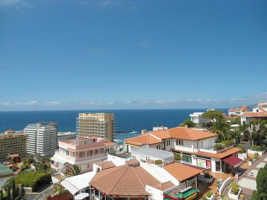 Hotel Puerto de la Cruz: Vistas desde el hotel (6º planta)